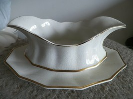 Johnson Brothers JB32 gravy boat with under plate (light crazing) 1 available - $9.50