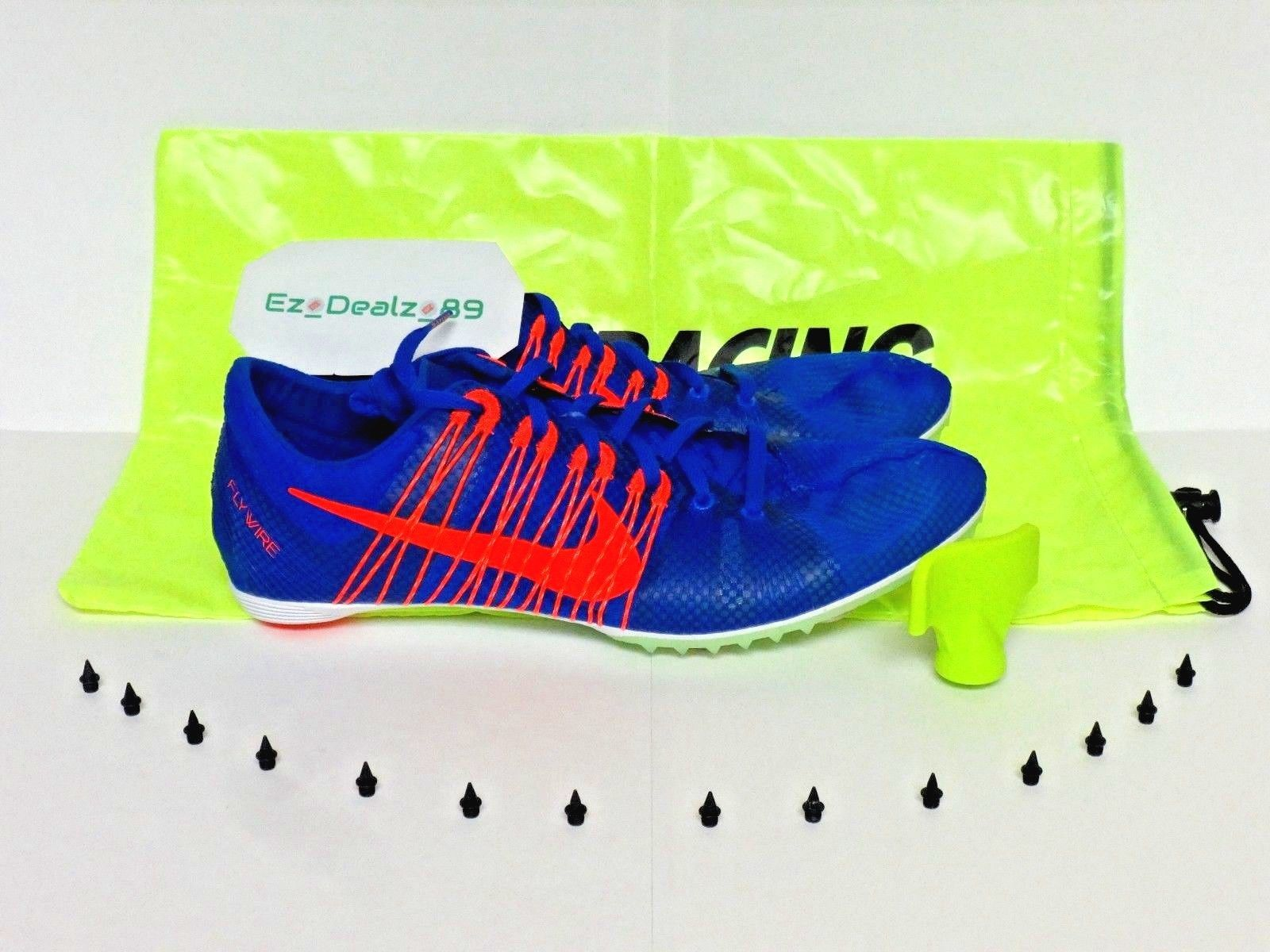 newest caa43 11b68 ... Nike Zoom Victory 2 Mens Track   Field Spikes Mid Distance Racing 11.5  Blue ...