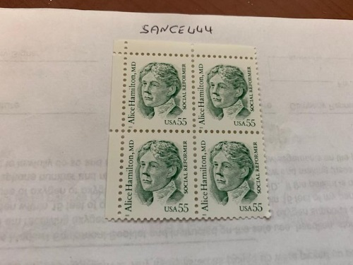 Primary image for United States Alice Hamilton block 1995    stamps