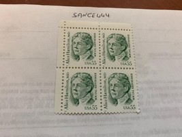 United States Alice Hamilton block 1995    stamps - $4.95