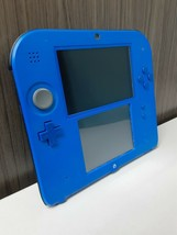 Nintendo 2DS Blue & Black Handheld with Charger and Games - $134.99