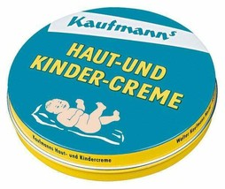 Kaufmann's skin and child cream 30ml can DIAPER BAG Made in Germany FREE... - $7.91