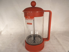 Bodum Coffee Maker BRAZIL FRENCH PRESS 8 Cup Red 1548-294US  - $16.40