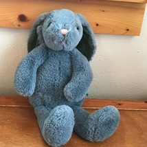 Gently Used Super Soft Manhattan Toy Plush Gray Floppy Bunny Rabbit Stuf... - $13.99