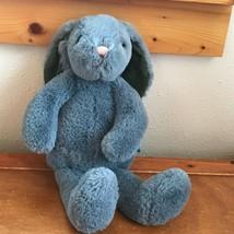 Gently Used Super Soft Manhattan Toy Plush Gray Floppy Bunny Rabbit Stuf... - $13.99