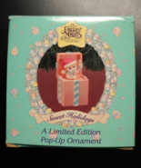 Enesco Precious Moments 1994 Sweet Holidays Pop Up Ornament Now You See ... - $7.99