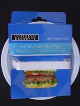 "HAMBURGER PATTY PRESS 4"" x 0.8"" Patties Dishwasher Safe - $2.96"