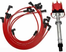 OEM Distributor Red Spark Plug Wire 6cyl GMC CHEVY 4.3L V6 TBI EFI 85-99 Pontiac