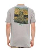 HUK Performance Fishing Gear KScott Crushed XL Gray T-Shirt $25 - $23.74