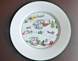 Lenox Sleighride Bread Butter Plate, Winter Holiday Design, Made in USA - $24.74