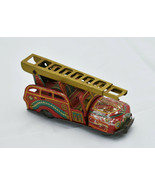 Friction Powered Metal Fire Chief Fire Truck - $85.00