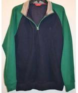 IZOD Colorblock Fleece Mens Zipper Front Outerwear Vest Size Small - $39.99