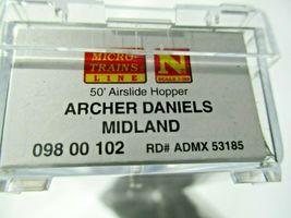 Micro-Trains # 09800102 Archer Daniels Midland 50' Airslide Hopper N-Scale image 5