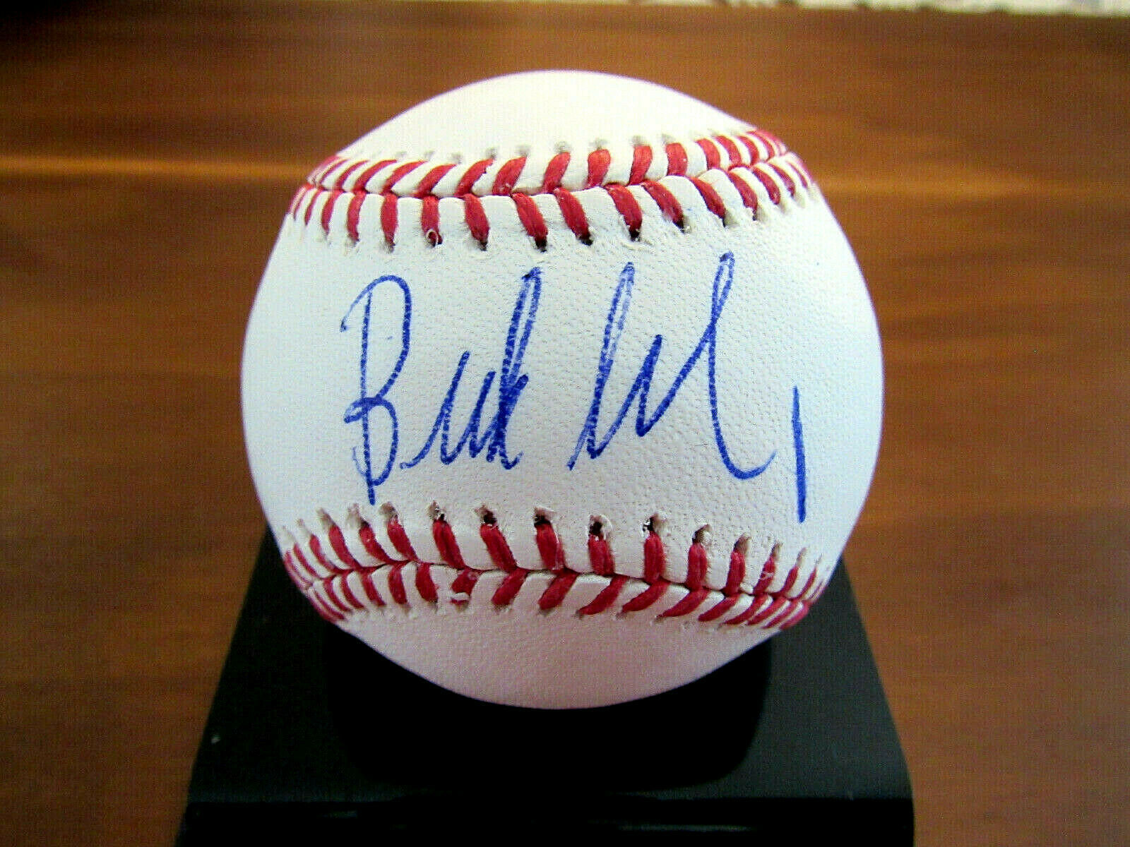 Primary image for BUD SELIG 9TH MLB COMMISSIONER HOF SIGNED AUTO 2013 WS OML BASEBALL JSA BEAUTY