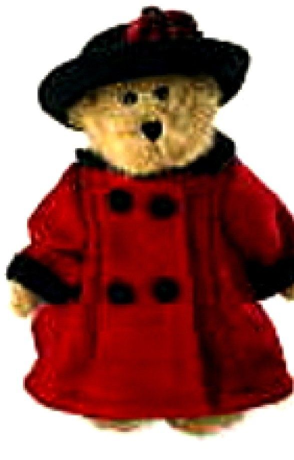 "Primary image for Boyds Bears ""Bailey In England""-8"" QVC Signed Exclusive- #99115V~NWT-2005-Retire"