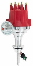 Pro Series R2R Distributor for Mopar Dodge Chrysler, V8 Engine Red Cap