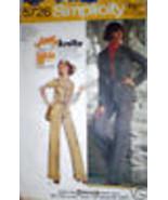 Vintage Simplicity Muster Ungefüttert Jacke Hose 10 Nähen - $6.92