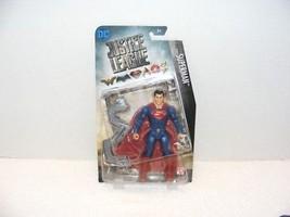 "NIB 2017 DC COMICS JUSTICE LEAGUE SUPERMAN 6"" POSEABLE ACTION FIGURE  - $15.99"