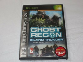 Tom Clancy's Ghost Recon : Island Tonnerre Microsoft Xbox 2003 Shooter M-MATURE - $16.02