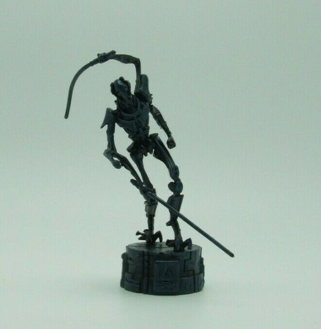 Star Wars Saga Edition Black General Grievous Chess Replacement Game Piece