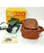 Vintage Kodak XL320 Movie Camera 9mm f/1.2 Lens MADE IN USA Leather Case... - $24.00