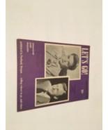 LET'S GO SEPTEMBER 1950 ENTERTAINMENT BOOK PORTLAND OREGON - $42.63