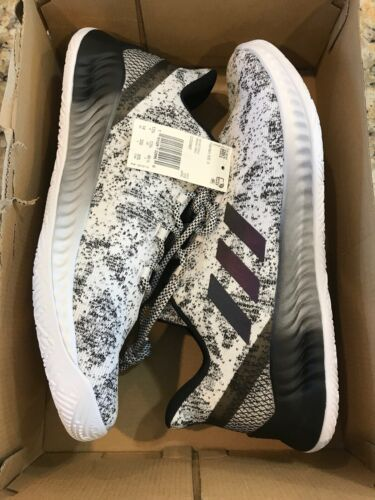 Adidas Harden BTE X Mens #CG5982 White Black Knit Basketball Shoes Size 14