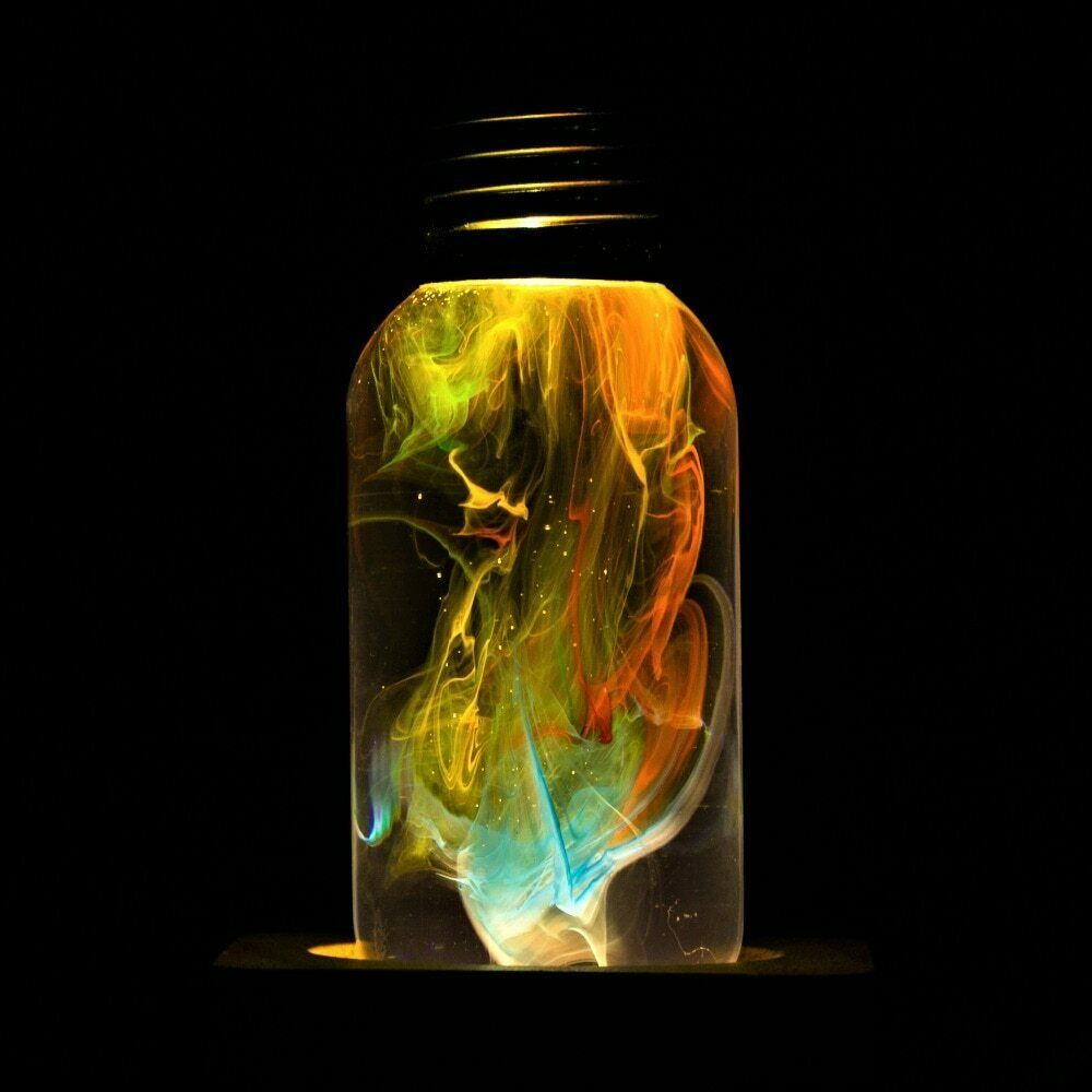 Primary image for EP LIGHT Bulb Modern Table Lamp 3D Youth Led ambient bedside trippy lighting
