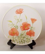 PRETTY NORITAKE PROGRESSION BRIGHT SIDE  DINNER PLATE LARGE PEACH/PINK F... - $17.99