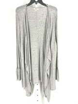 Style & Co. Women's Gray Open Front Long Sleeve Duster Cardigan Size 2X NEW - $23.76