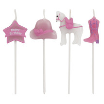 Candles Molded Pick Sets Horse/Case of 48 - ₨3,703.99 INR
