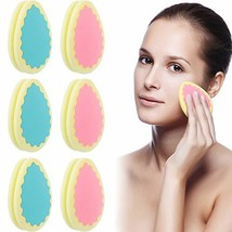 6 Pieces Hair Removal Sponge Depilation Pads Painless Hair Removal Sponge for Fa