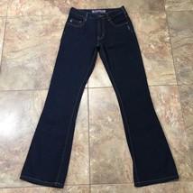 SILVER Dark Indigo Wash Bootcut Jeans Size 26x32  C353 - $29.99