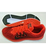 Nike Mens Zoom Winflo 5 Running Shoes Bright Crimson Oil Grey Black Size... - $69.29