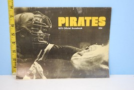 1975 Pittsburgh Pirates Official Baseball Scorecard v Mets Unscored - $12.86