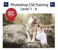 ADOBE PHOTOSHOP TRAINING VIDEO TUTORIALS CS6 35Hrs - DIGITAL DOWNLOAD - $4.99