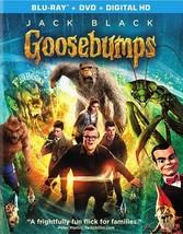 Goosebumps (2015/Blu-Ray/DVD Combo/Ws 1.85/Ultraviolet)