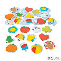 Seasonal Bulletin Board Cutouts - $28.36