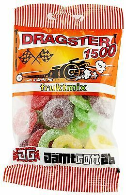 Primary image for 50 x bags of Dragster 1500 candy