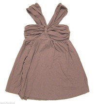 LOVE YAYA Knit Halter Top in Taupe Brown sz P / XS - $22.18