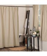 Sawyer Mill Charcoal Ticking Stripe Bath Shower Curtain Classic Vintage ... - $56.95