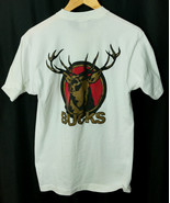 Bucks Cigarettes Flaunt your Bucks Vintage  Cotton T Shirt Mens Size L - $24.20