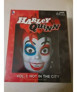 HARLEY QUINN: HOT IN THE CITY - BOOK AND MASK PACK AND T SHIRT - FREE SH... - $46.75