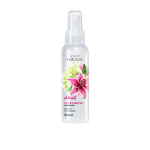 Avon Naturals Lily & Gardenia Body Mist Body Spray 100 ml New Rare - $13.84