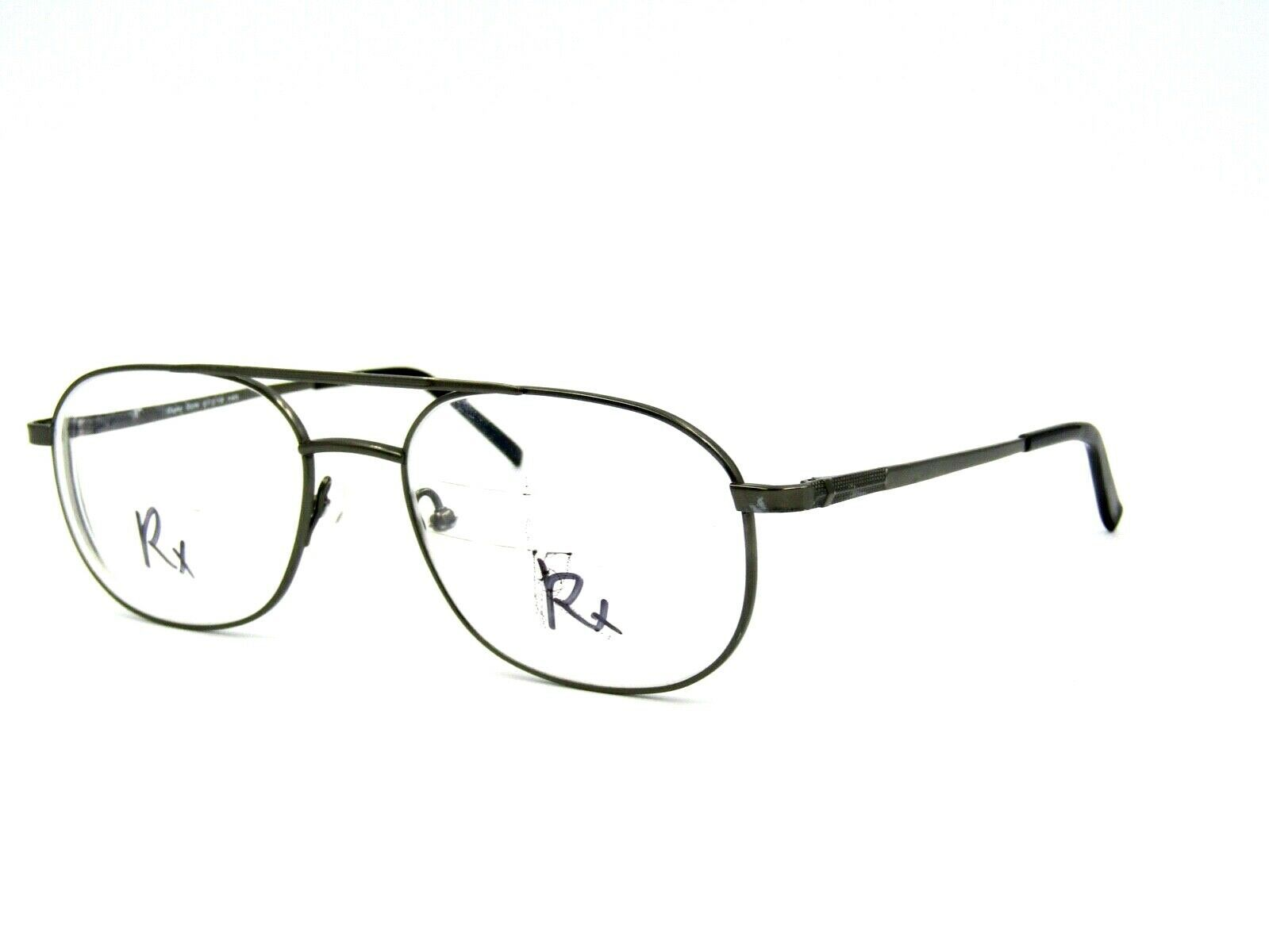 Primary image for Van Heusen CLYDE Men's Metal Eyeglasses Frame, Gunmetal. 57-19-145, WIDE ! #73D