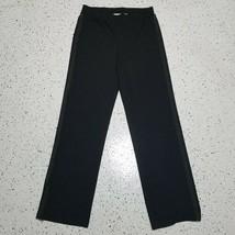 Liz Claiborne Women's Dress Pants ~ Sz M ~ Black ~ Stretchy - $19.79