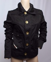 Diesel Gold Button Black Cotton Jacket M - $94.99