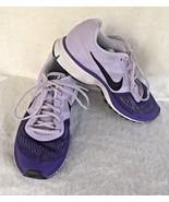 Nike Pegasus 30 Size 7.5 Fitsole Athletic Running Shoes Purple White Cus... - $34.65