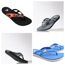 adidas Mens Calo 5 Flip Flops Sandals Pool Beach Shoes Slides image 2