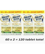 2 x Schiff Move Free Ultra 2 in 1 Joint Health Diet Supplement 120  EXP ... - $19.30